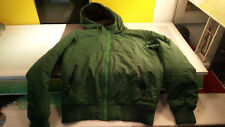 Nike Women's The Athletic Department Hooded Zip Jacket Green Good Cond Small