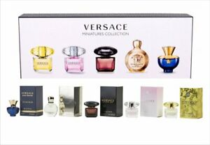 BEST-SELLER/NEW IN BOX VERSACE MINIATURES COLLECTION 5ML/ 0.17 FL OZ