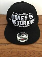 Floyd Mayweather Money vs. The Notorious Conor McGregor Hat MMA unique boxing