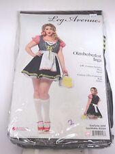 Plus Size 3X-4X Women's Oktoberberfest Costume Halloween Party Sexy Leg Avenue