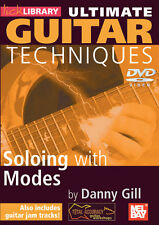 SOLOING WITH MODES GUITAR SCALES *NEW* DVD LICK LIBRARY