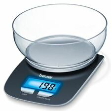 Beurer KS25 Kitchen Scales w/ 1.2L Weighing Bowl, Illuminated Display, Auto-Off