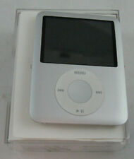 Apple iPod nano 3rd Generation Silver (4 GB) MA978LL/A A1236 Used Working