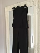 Zara Peplum Jumpsuit xs Excellent Used Condition