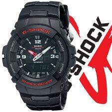Casio Men's G100-1BV G-Shock Digital Black Resin Watch