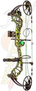 Fred Bear Archery Legit Bow RTH RH 10-70# Moonshine Toxic - AV13A21047R