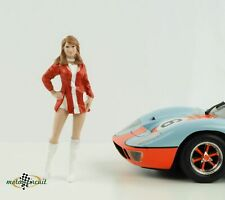 Figur Race Day 2 Grid Girl Paddock 1:18 American Diorama no car VI