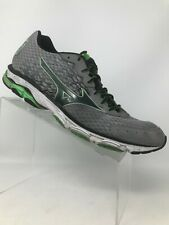Mizuno Wave Inspire 11 Running Training Shoes Grey Black Green Men 13