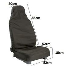 2x QUALITY BLACK SEAT COVERS PROTECTOR for FORD TRANSIT C