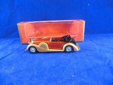 Matchbox Yesteryear Y11 1938 Lagonda Drophead Coupe Orange Body Issue 8
