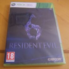 xbox 360  GAME RESIDENT EVIL 6   BRAND NEW SEALED