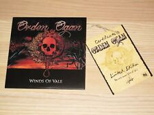 ORDEN OGAN PROMO CD - WINDS OF VALE /  1 of 160 COPIES PRESS in MINT-/VG++