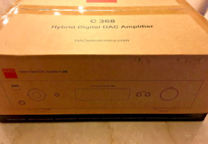 BRANDNEWSEALED NAD C368 Stereo integrated amplifier with built-in DAC and BT