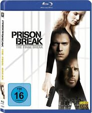 PRISON BREAK: THE FINAL BREAK (Wentworth Miller) Blu-ray Disc NEU+OVP