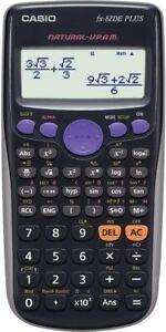 Casio FX 82 DE Plus Schulrechner NEU OVP Wissenschaftliche Taschenrechner