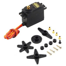 MG995 Gear High Speed Torque RC Servo For Airplane Helicopter Cars Boat Black