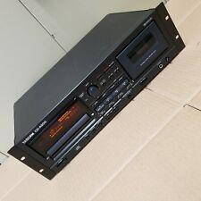 TASCAM CD-A500 Rackmount CD Player/Cassette Tape Deck Recorder 120/230V READ!