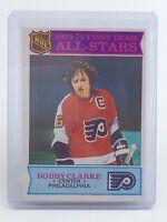 1975-1976 Bobby Clarke #286 Philadelphia Flyers OPC O-Pee-Chee Hockey Card H765