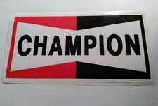 Champion sticker decal hot rod rat rod vintage look drag race