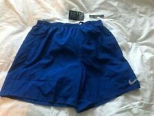"Nike Men Running 7"" XL Blue Shorts with DRI FIT Technology -  C7049"
