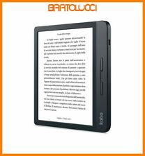 "Kobo Libra H2O 7"" 8GB Wi-Fi Lettore E-Book Reader - Nero (N873-KU-BK-K-EP)"