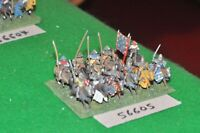 15mm medieval / english - men at arms 12 figs - cav (56605)