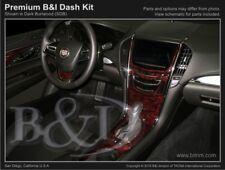 Dash Trim Kit for CADILLAC ATS 13 14 15 16 17 carbon fiber wood aluminum
