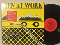 Men At Work Business As Usual EX, SHRINK,HYPE STICKER 80s Down Under,WhoCanItBe