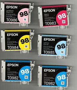 Epson 98 Ink Cartridges - All Colors - You Choose!  (Read notes)