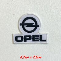 Opel Automobiles motorsports White logo Iron Sew on Embroidered Patch #1562W