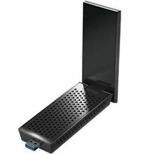 NETGEAR A7000-10000S Nighthawk AC1900 Dual-Band WiFi USB 3.0 Adapter Black