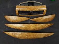04 05 06 07 BMW E64 E65 645i 645ci 650ci Interior Console Wood Trim Vents Door
