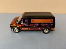Johnny Lightning Boogie Vans 1977 Ford Econoline E150 E 150 Diecast Van Black