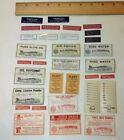 Vintage Labels for Medicine Bottles  32  labels for drugs and poison  NOS