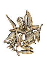 Dried Sprats (Small Fish), 100% Natural Fish Dog Treat Chew High In Omega 3 BARF