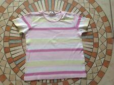 Kinder Kurzarm Shirt, T-Shirt mehrfarbig gestreift  Gr. 128