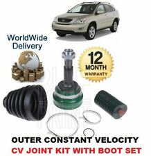 FOR LEXUS RX300 3.0 2/2003-6/2006 NEW OUTER FRONT CONSTANT VELOCITY CV JOINT