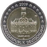 Germany 2009 - 5 x 2 Euro Commemorative (UNC)