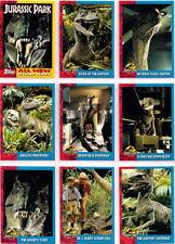 1993 JURASSIC PARK SERIES 2 TRADING CARD SET + STICKERS