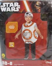 Star Wars BB-8 Rubies Halloween Romper Costume Toddler 2T - 3T Unisex NWT HA2