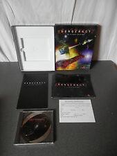 Rare XENOCRACY (The Ultimate Solar War) PC Big Box 1997