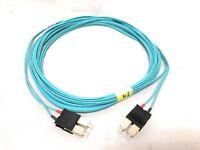 Corning Cable OM3 SC SC Duplex Fiber Patch Cable 10G Multimode 50/125 9 Meter