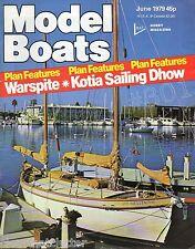 Vapeur canonnières du RAYAL NAVY - 1942 - 1956-Model Boats MAGAZINE JUIN 1979