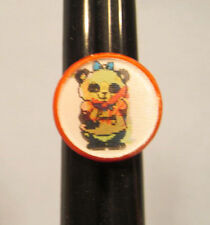 Shirt Tales Pammy Panda Digger Mole Cracker Jack ? Flasher Toy Ring - Rare!
