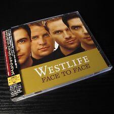 Westlife - Face To Face JAPAN CD+3 Bonus Tracks W/OBI Mint BVCP-21446 #107-1