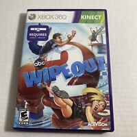 Wipeout 2 Xbox 360 Kids Kinect Game ABC Family Tv Game Show Video Game Free Ship