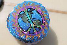 PEACH on EARTH - Hippie Love Happy Sun Magic 3in. Colorful STICKER - LOT OF 100