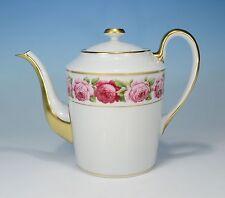 "Royal Limoges ""Rose de Paris"" kl. Kaffeekanne 0,9 Liter"