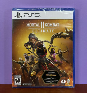 MORTAL KOMBAT 11 ULTIMATE Sony Playstation 5 PS5 Game BRAND NEW FACTORY SEALED!