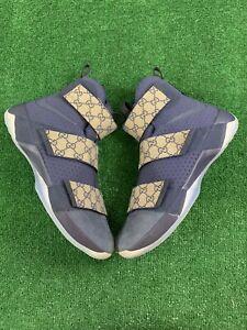 Nike LeBron Soldier 10 'Midnight Navy' Shareef O'Neal's Custom Size 16